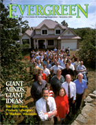 Cover of November 2003 Issue of Evergreen Magazine